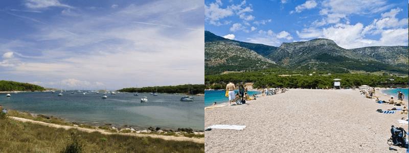 horvátországi strandok
